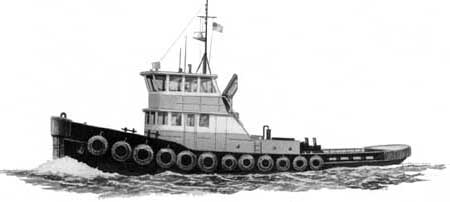 """Megan M"" is Sebrings Marine Services ex-Namvy YTL tug."